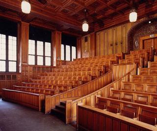 Hörsaal Völkerkundemuseum